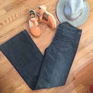 RARE 7 For All Mankind High Rise flare jeans