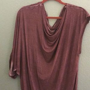 NWT slouchy free People shirt