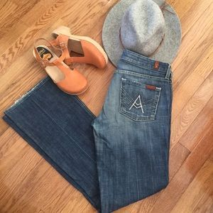 7 For All Mankind A Pocket Blue  jeans