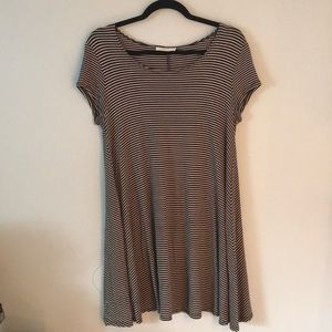 Poetry Striped Dress (M)