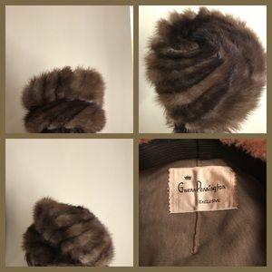 Vtg Mink Hat