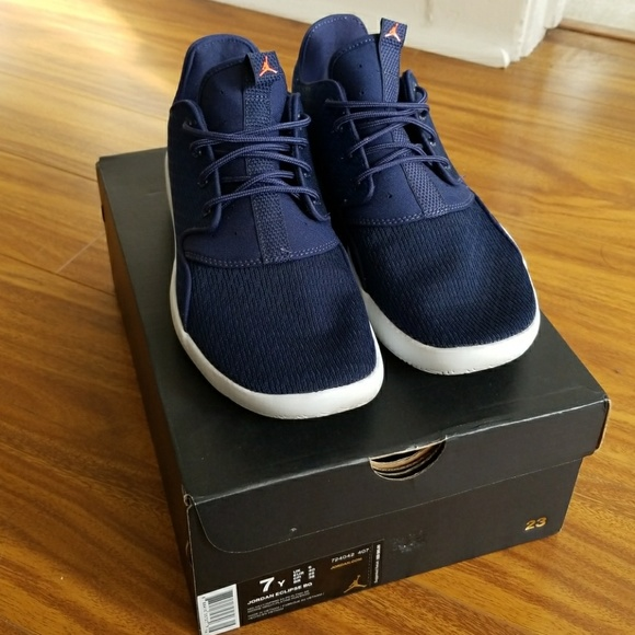 e9bd16299d5 Jordan Other - Nike Jordan Eclipse Navy Infrared Boys Size 7