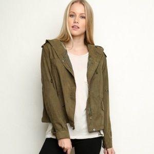 Brandy Melville green jacket