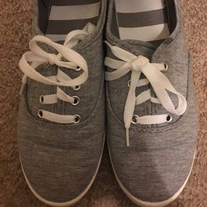 GREY CANVAS SHOES sneakers