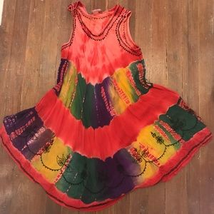 Resort dress- fun the dye dress