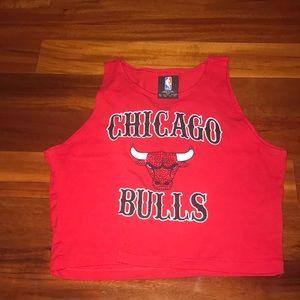 Bulls crop top