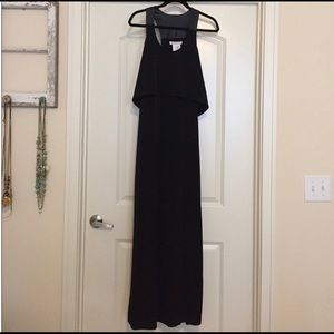 Long Black Dress by BCBGeneration