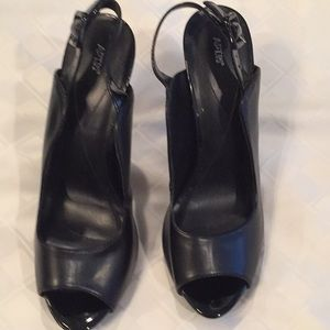 APT.9 black heels, size 10 - worn once