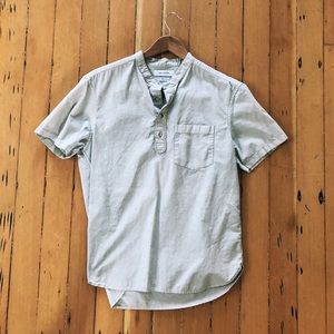 Urban Outfitters Henley Button Up Shirt