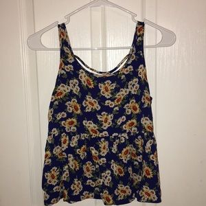 Sunflower top blouse