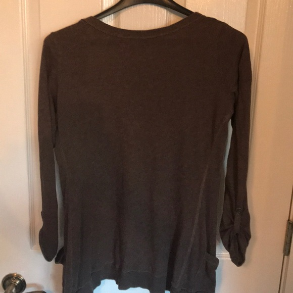 43% off American Eagle Outfitters Sweaters - Lightweight Brown ...