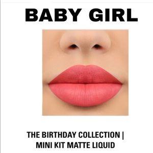 BABY GIRL MINI MATTE - THE BIRTHDAY COLLLECTION