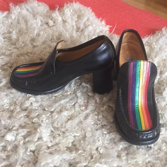 Patrick Cox Wannabe Rainbow Loafers