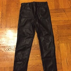Forever 21- Black faux leather pants