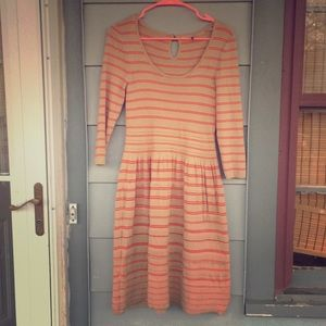 Anthropologie knitted & knotted dress size M
