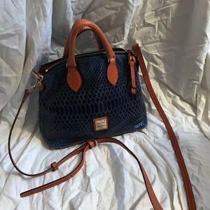 Dooney & Bourke faux snakeskin bag