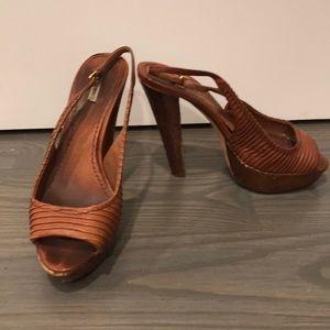 Miu Miu sling back heels