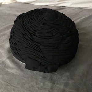 Vintage I. Magnin pillbox hat