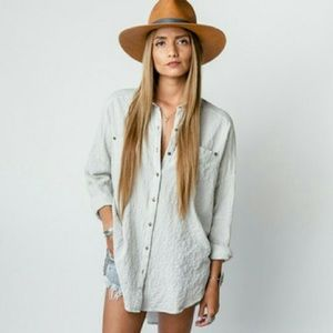 Free people Love Me Madly Oversized Top