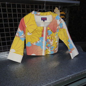 Tracy Fieth Yellow Pastel Jacket XS