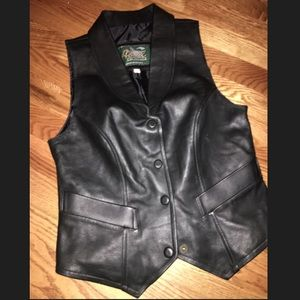 Alex Piel Genuina - Genuine Leather Vest