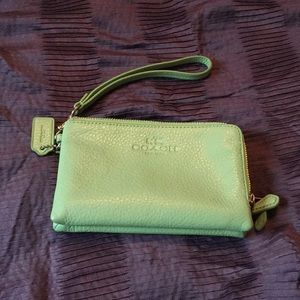 Authentic Coach Wristlet - EUC, flawless!