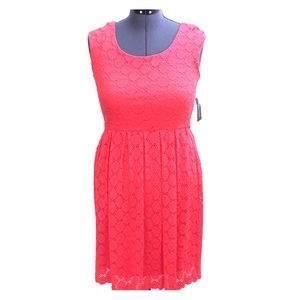 Coral RN Studio Sleeveless Dress Size 8