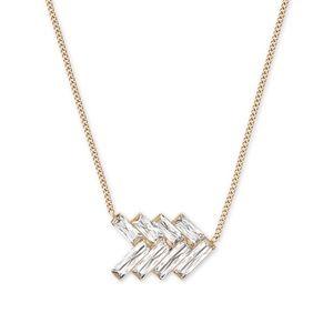 Michael Kors Gold Chevron Necklace