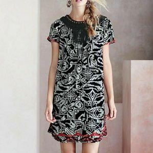 Anthropologie FLOREAT Adelia Dress