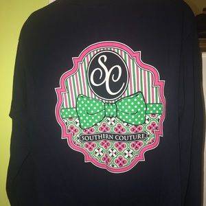 Long sleeve Southern Couture t-shirt