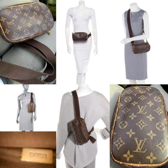 ad5c437ed8dc Louis Vuitton Handbags - Authentic LOUIS VUITTON Monogram Pochette Gange