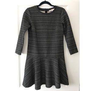 Loft Geo Stripe Flippy Dress XS