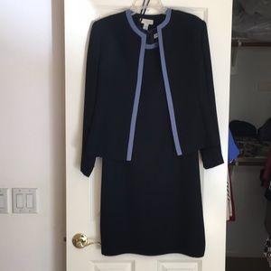 Two piece dress with jacket