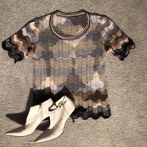 MISSONI vint knit top szM / US 6 LIKE NEW