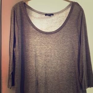 Lane Bryant 3/4 sleeve shirt
