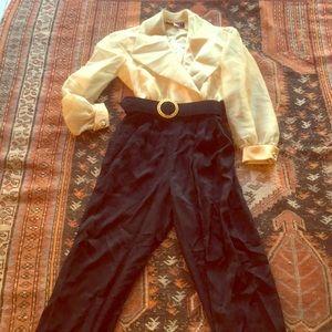 Vintage J.R. Nites by Caliendo Evening Jumpsuit