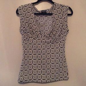 BCBG Paris Short Sleeve Blouse