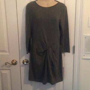NWT Forever 21 gray dress- large
