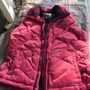 The North Face puff vest size small like new