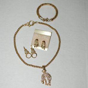 Jewelry - Costume Jewelry Vintage estate sale lot big cat