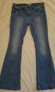 Free people light blue flare jeans size 31