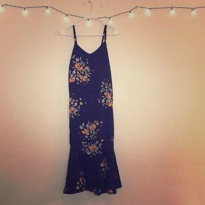 Zero, D.C. Floral Maxi Dress.