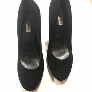 Steve Madden Tribute Black Suede High Heels Size 9