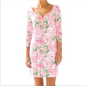 LILLY PULITZER PINK COLONY (Flamingo) Dress