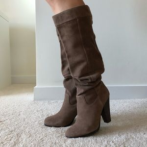 H&M Suede Boots, size 6.5