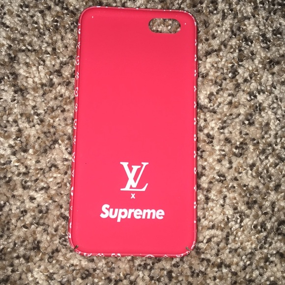 Louis Vuitton Other X Supreme Iphone 6 6s Phone Case