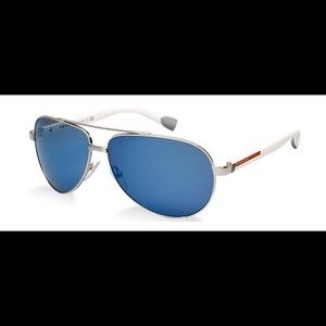 PRADA Aviator Sunglasses SPS 51N Blue