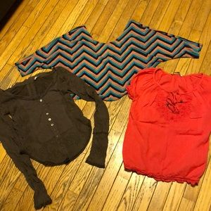 Tops - Bundle (6) cute tops Size M