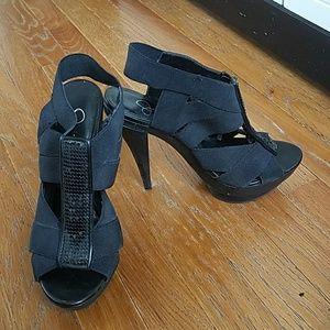 Used Jessica Simpson platform heels