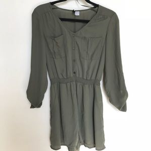 H&M DIVIDED ROMPER